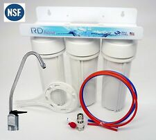 Under Sink 3 Stage Water Filter System all Lead Free NSF Certified