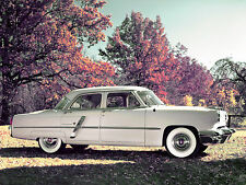 1953 Lincoln Cosmopolitan 4-door Sedan Press Photo  8 x 10  Photograph