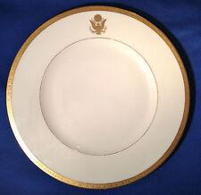 Original Porzellan Speiseteller Weißes Haus, Washington, Wappen Präsident