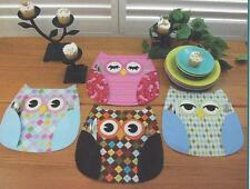 Who's Place Owl Place Mats quilt pattern by Susie C Shore