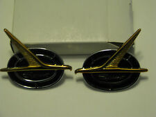 1963 FORD FALCON''SPRINT''ROOF SIDE ORNAMENT PAIR FREE SHIP