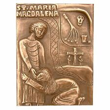 Bronze Relief Maria Magdalena 12,5 cm