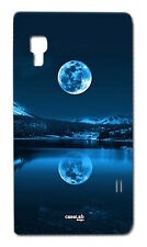 CUSTODIA COVER CASE LUNA RIFLESSO ACQUA LAGO CIELO PER LG OPTIMUS L5 II E460