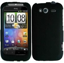 Hard Rubberized Case for HTC Wildfire S - Black