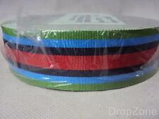 Wholesale Roll of Operational Service Sierra Leone Full Size Medal Ribbon 25M