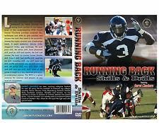 Running Back Skills and Drills DVD - Football Coach - Free Shipping