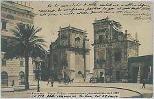 CARTOLINA d'Epoca PALERMO città - Porta Felice  1903