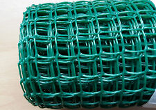 Green Plastic Garden Mesh Wire Ideal for Garden Fencing 5mx0.5mx19mm Value!