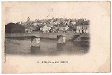 CPA 72 - LE MANS (Sarthe) - 28. Vue Partielle - Dos non divisé