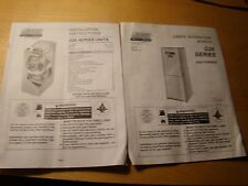 LENNOX GAS FURNACE G26 SERIES INSTRUCTIONS & MANUAL 1997