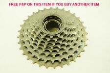 8 SPEED INDEX 13 - 32 MEGA FREEWHEEL BLOCK SCREW ON CASSETTE LOW RANGE MTB BIKE