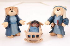 bad taste bears*Nativity Set 3-Ghetto Jesus*retired