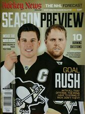 Hockey News Magazine Season Preview 2015-16 NHL Forecast Vol 69 #4 FREE SHIPPING