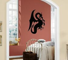Wall Stickers Vinyl Decal Dragon Fantasy Mythical Animal Monster Legend ig189