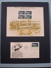Project Mercury - John Glenn in Space with SC11 Interpex Card & First Day Cover