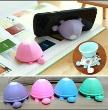 2in 1 Earphone Cable Winder and Phone Holder Turtle Suction Cup Ocean Sea Water