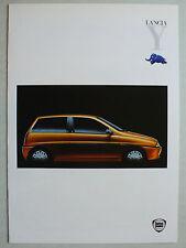 Prospekt Lancia y Elefantino, 4.1997, 8 páginas