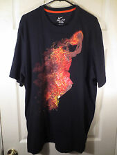 """NIKE KD """"ON FIRE"""" KEVIN DURANT Basketball Dri-Fit Shirt Men's Size 3XL"""