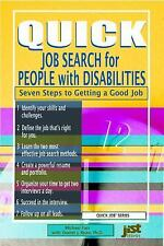 Quick Job Search for People with Disabilities Seven Steps to Getting a Good Job