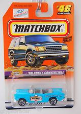 Matchbox 55 CHEVY CONVERTIBLE DROP TOPS #46/100 MATCHBOX OFFICAL PARADE CAR