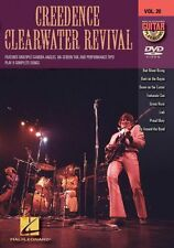 Guitar Play-Along Creedence Clearwater Revival Learn to Play Guitar Music DVD