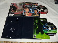 Resident Evil Code X: Veronica & Syphon Filter The Omega Strain - Playstation 2