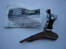 SHIMANO EXAGE LX FD-M300 CLAMP-ON FRONT DERAILLEUR - NOS