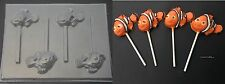 Finding NEMO Clown Fish Chocolate Soap Candy Lollipop Mold