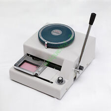 80CE PVC Card Embosser Embossing Machine Stamping Credit ID VIP Magnetic