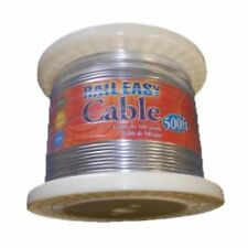 """Atlantis Rail Easy 5/32""""x500' Roll-316 Stainless Steel Cable C0978-4500 RailEasy"""