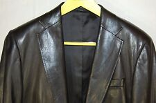 SUPER CHIC !!! GUCCI BY TOM FORD MEN  FITTED LEATHER JACKET/BLAZER  EU 50 US 40