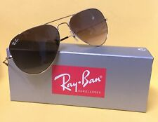 Ray Ban Aviator RB 3025 001/51 62mm Light Brown Gradient & Gold Frame Sunglasses
