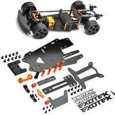 Exotek Racing 1516 Micro RS4 Carbon Fiber Conversion Chassis Hpi 1/18