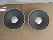 "VINTAGE PAIR OF JBL SIGNATURE SPEAKERS - JAMES B LANSING - 12"" 16 OHM - NICE"