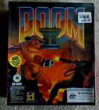 DOOM 2 II by ID SOFTWARE   BRAND NEW FACTORY SEALED!   Retro Gaming PC Game