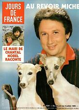 JOURS DE FRANCE N°1591 michel drucker cousteau chantal nobel