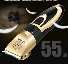 Low-noise Electric Pet Dog Cat Hair Trimmer Shaver Razor Grooming Fur Clippers