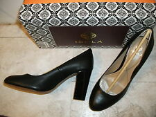 Woman's Isola Black High Heels! Genuine leather shoes. Women's Size: 7M Sexy!