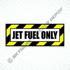Jet Fuel Only Vinyl Decal Bumper Sticker Diesel Fuel Truck Car Decal For Ford
