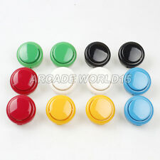 12x New OEM 30mm Push Buttons Replace For Arcade Sanwa OBSF-30 Button Mame Games