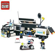 ENLIGHTEN Police City Riot Explosion-Proof Track Blocks Minifigures Toys Gift BT