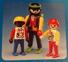 Playmobil Vintage  (3) Cyclists and Bicycles - Collector - NEW