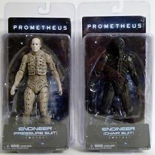 "ENGINEER PRESSURE & CHAIR SUIT Prometheus Movie 7"" Figure Set Series 1 Neca 2012"