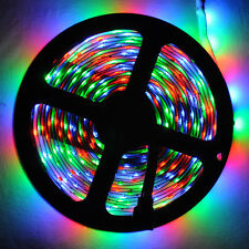 2835 RGB SMD LED Strip Light  5M Non-Waterproof 300LED Flexible Tape Home Decor