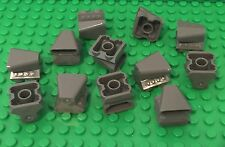 LEGO 12 Pc. New Dark Bluish Gray Car Engine 2x2 with Air Scoop / Dark Stone Gray