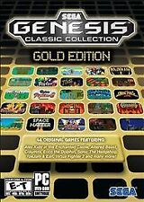 Video Game PC Sega Genesis Classic Collection Gold Edition (PC, 2011) NEW SEALED
