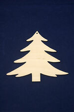 5x Plain Wooden Plywood Christmas Tree for Decoupage & Other Crafts