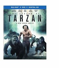 PRE-ORDER: THE LEGEND OF TARZAN  - BLU RAY Sealed Region free for UK