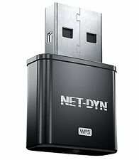 NET-DYN Mini USB Wireless WiFi Adapter, Top Internal Antenna Model, 300Mbps, New