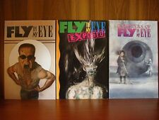 Fly in My Eye/Exposed/Daughters of Fly in My Eye - Lot of 3 TPB Arcane 1st Ed